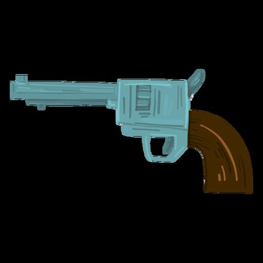 Cowboy revolver gun Transparent PNG