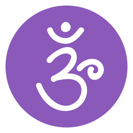 Crown chakra icon Transparent PNG