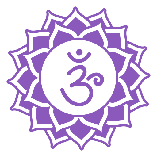 Crown chakra symbol Transparent PNG