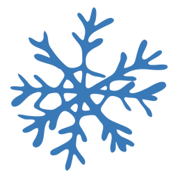 Crystal pattern snowflake sticker