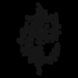 Redemoinho de símbolo musical de tempo de corte