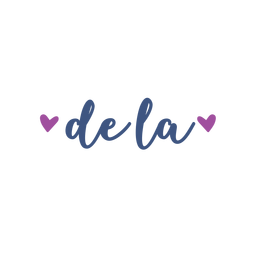 De la spanish heart text sticker