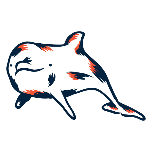 Dolphin duotone Transparent PNG