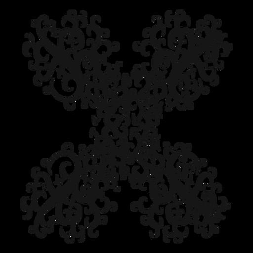 Redemoinho duplo símbolo musical afiada Transparent PNG
