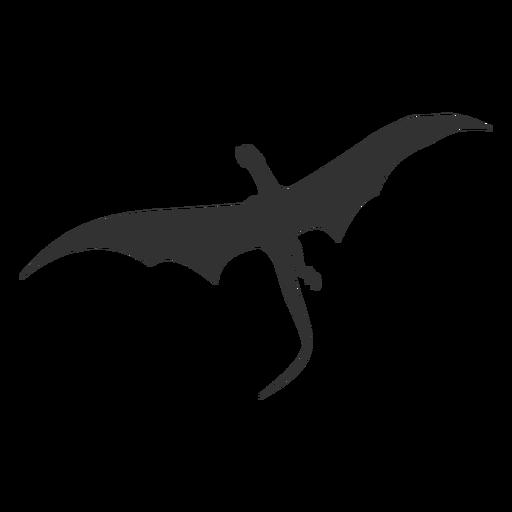 Dragon neck silhouette Transparent PNG