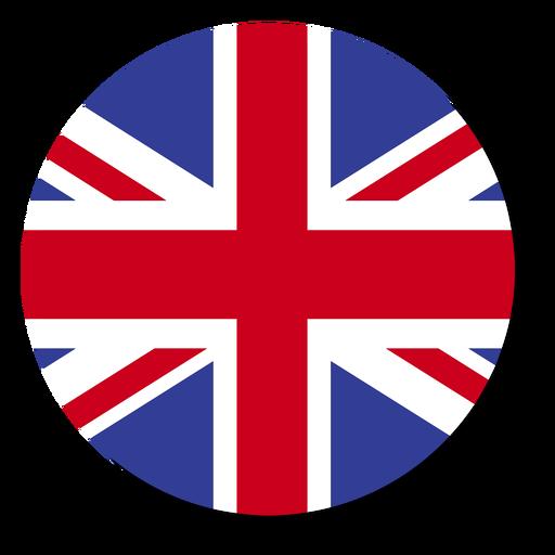 Círculo de ícone de língua de bandeira de Inglaterra Transparent PNG