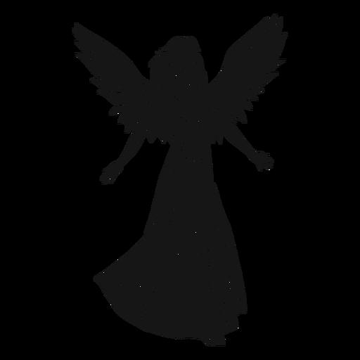 Anjo feminino escuro Transparent PNG