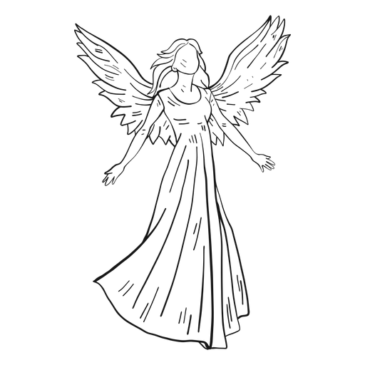 Female angel line