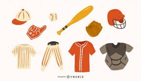 Engrenagem de beisebol
