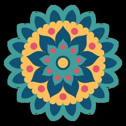 Festival de mandala de cores