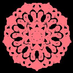 Festival de mandala de cores ícone