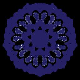Festival del amor icono de mandala
