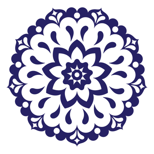 Festival of love mandala icon Transparent PNG