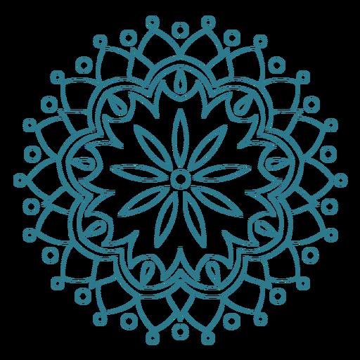 Festival de primavera icono de mandala Transparent PNG