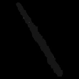 Flute musical instrument swirl