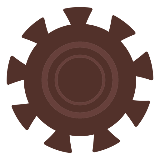 Gear wheel hole gear pinion cogwheel flat Transparent PNG