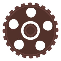 Gear gear wheel cogwheel pinion hole flat
