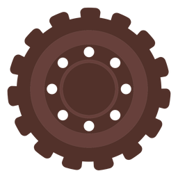 Gear hole cogwheel gear wheel pinion flat