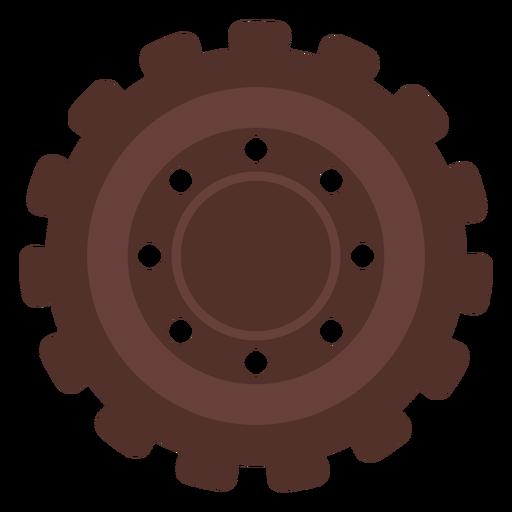 Gear hole cogwheel gear wheel pinion flat Transparent PNG