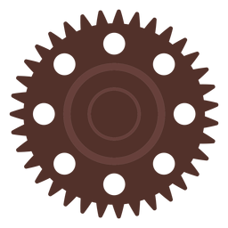 Gear hole cogwheel pinion gear wheel flat