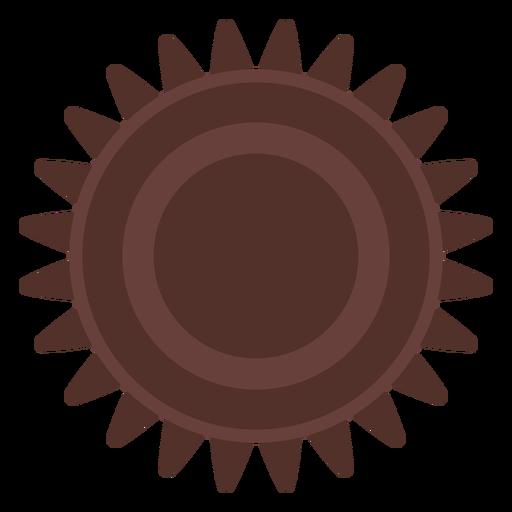 Gear hole pinion cogwheel gear wheel flat Transparent PNG