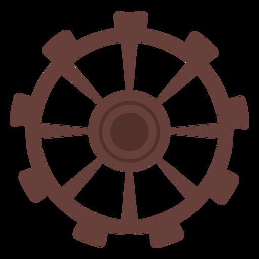 Gear pinion cogwheel gear wheel hole flat Transparent PNG