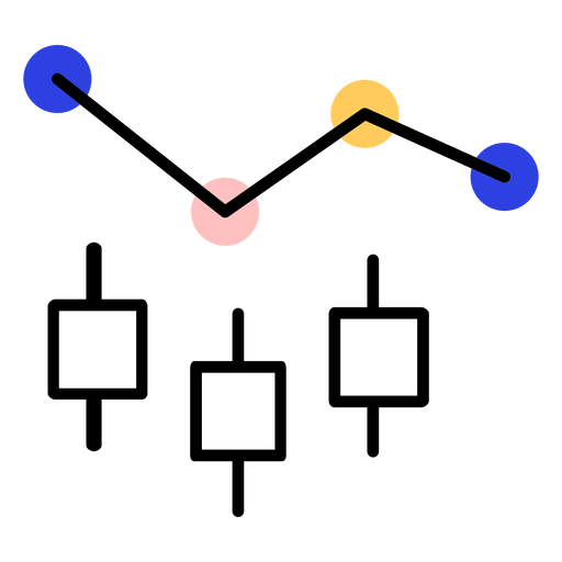Graph circle line stroke Transparent PNG