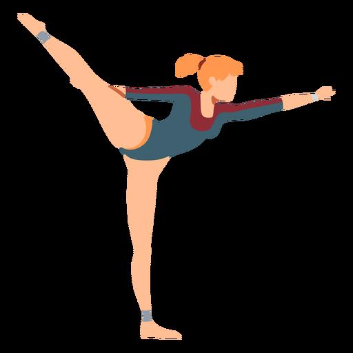 Gymnast leotard exercise body stocking acrobatics flexibility flat