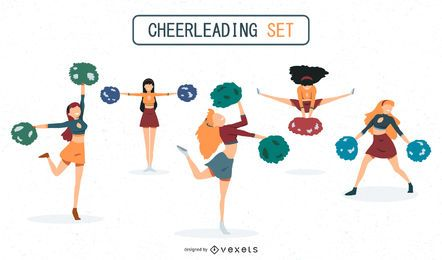 Cheerleaders set design