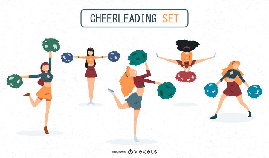 Cheerleaders set design