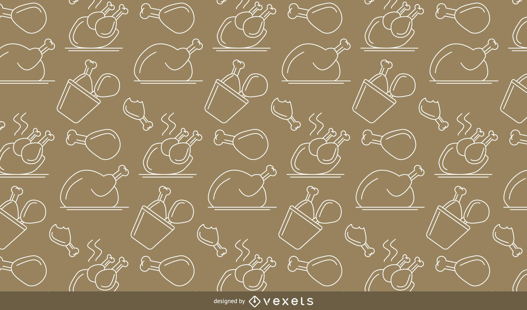Cooked Chicken Pattern