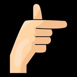 Mão, dedo, t, letra, t, ilustração