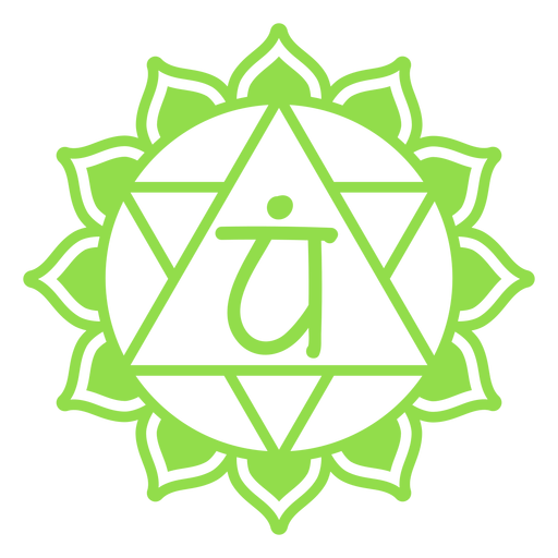 Heart chakra symbol Transparent PNG