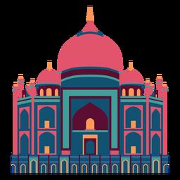 Ilustração do templo hindu