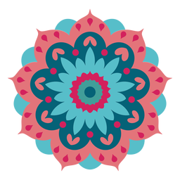 Mandala do festival de Holi