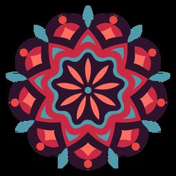 Holi festival mandala symbol