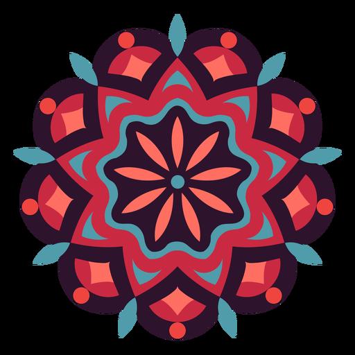 Holi festival mandala symbol Transparent PNG