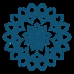 Mandala de Holi plana