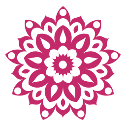 Holi mandala icon