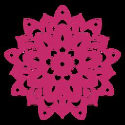 Ícone de mandala de Holi