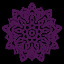 Holi mandala symbol