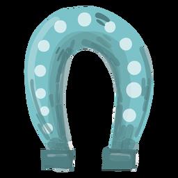 Ilustración de herradura