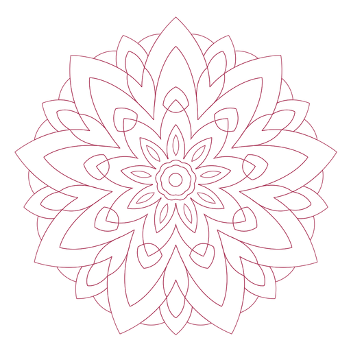 Indian holi festival mandala Transparent PNG
