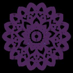 Mandala de holi indiano