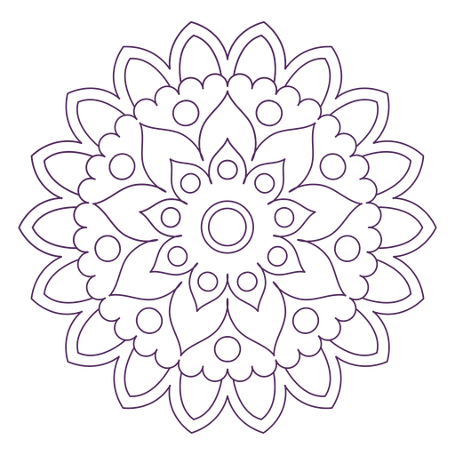 Indian holi mandala Transparent PNG