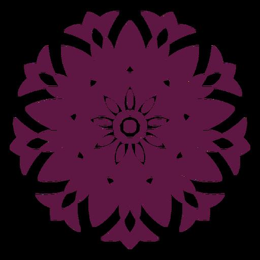 Indian holi mandala icon Transparent PNG
