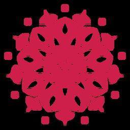 Símbolo de mandala de holi indiano