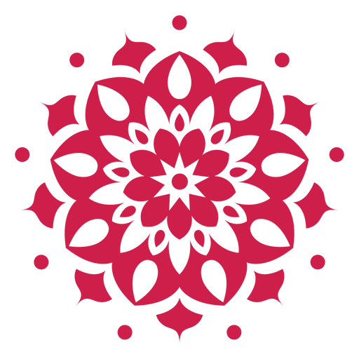 Indian holi mandala symbol Transparent PNG