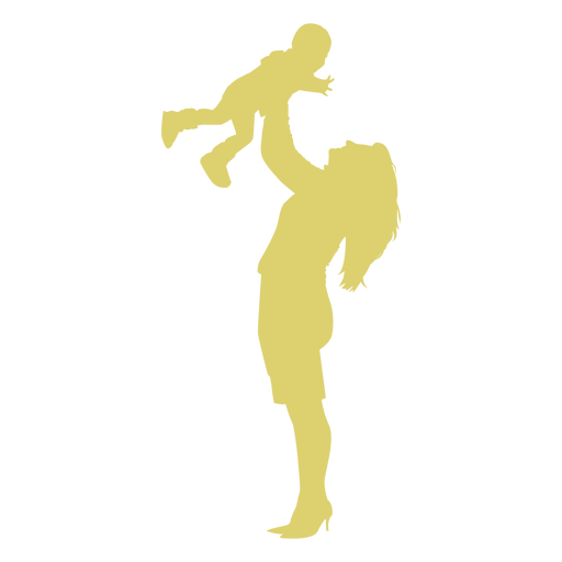 Kid  Child mother silhouette Transparent PNG