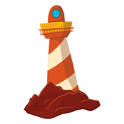 Lighthouse searchlight floodlight tower illustration Transparent PNG
